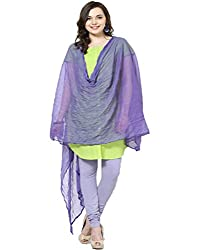 Castle Light Purple Chiffon Dupatta