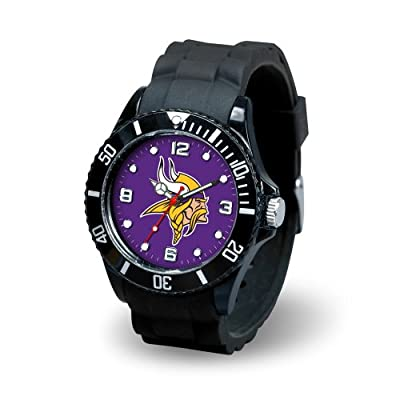 "USA Wholesaler - SPR-WTSPI3101 - Minnesota Vikings NFL Spirit Series"" Mens Watch"""
