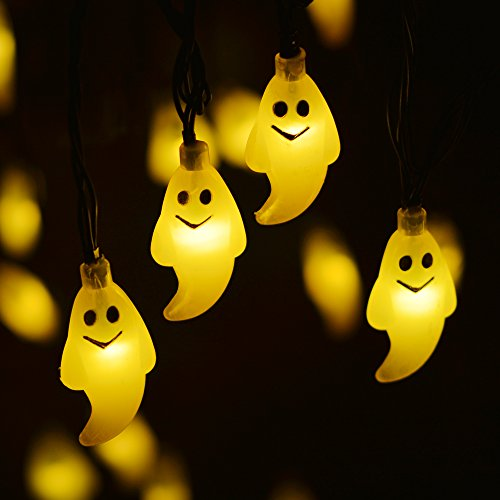 Solar Ghost String of Outdoor LED Lights