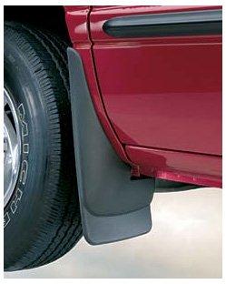 Black Husky Liners Custom Fit Rear Mudguard for Select Toyota 4Runner Models Pack of 2