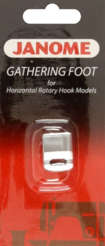 Review Janome Gathering Foot