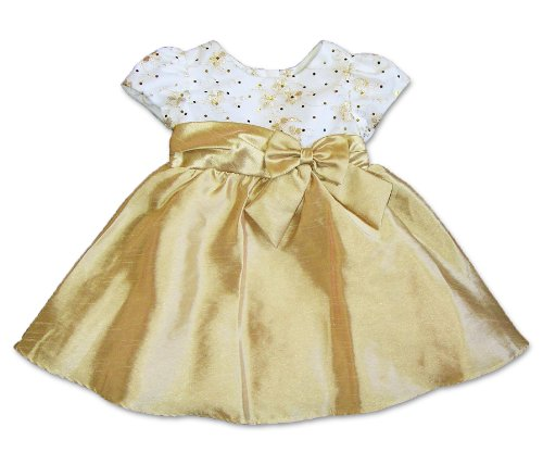 Gold Baby Dresses