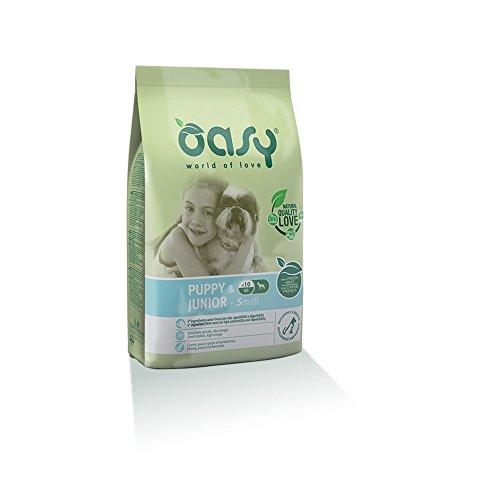 OASY Alimento secco per cane puppy & junior small 1kg - Mangimi secchi per cani