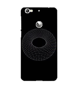 LE ECO LE 1S DOTS CIRCLE Back Cover by PRINTSWAG