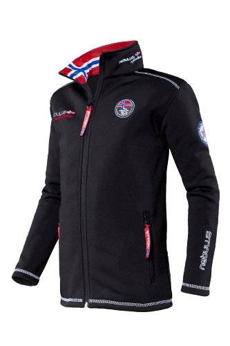 Nebulus Kinder Softshell Jacke High End Meastro, Schwarz, 164, Q708