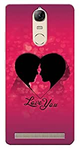 Kaira High Quality Printed Designer Back Case Cover For Lenovo Vibe K5/Vibe K5 Note New genration mobile(Coupleheart)