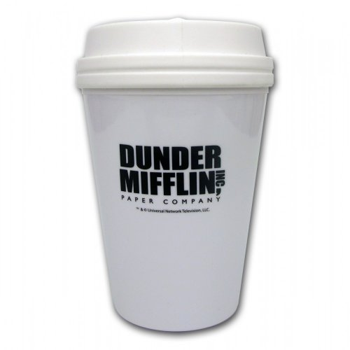 The Office Dunder Mifflin White Tumbler