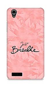 AMEZ just breathe Back Cover For Lenovo A3900