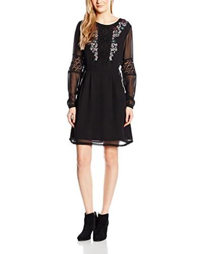 JANIS Kleid schwarz M