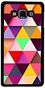 PrintVisa Case Covers for Samsung Galaxy E7 (D7956, Pattern Abstract Colorful)
