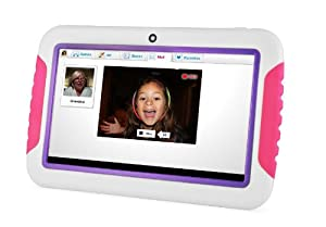 "Ematic FunTab Tablet with 4GB Memory 7"" Pink/Purple 