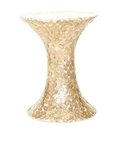Safavieh Randy Table, Off White/Copper