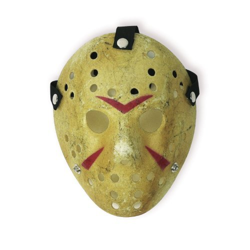 LANDISUN COSTUME PROP HORROR HOCKEY MASK JASON