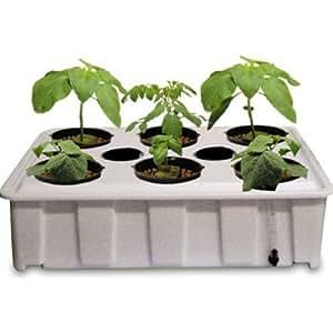 Water garden indoor grow kit white pet supplies for Indoor gardening amazon