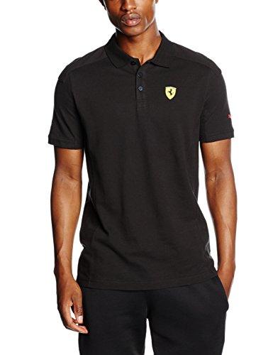 puma-herren-t-shirt-sf-polo-black-xl-761982-02