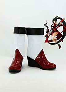 BLAZBLUE Litchi Faye Ling Cosplay Shoes Boots