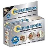 SUPER HOOK - Holds Up To 80 lbs. - Compare To Hercules Hooks