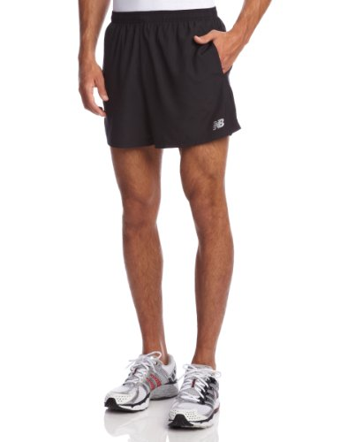New Balance New Balance Men's 5-Inch Go 2 Shorts, Black, Medium
