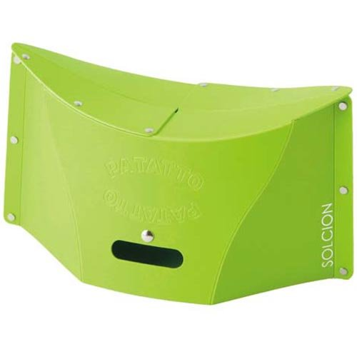 携帯折りたたみチェア パタット グリーン 640893