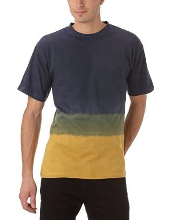 Gaspard Yurkievich - T-Shirt - À Logo - Jersey - Homme - Multicolore (Jaune/Gris/Bleu) - XL