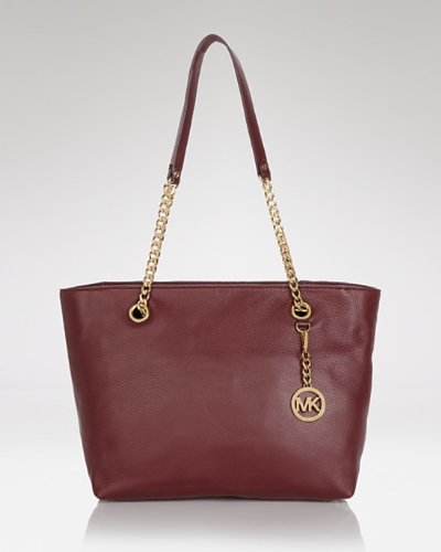 Michael Michael Kors Jet Set Chain Large Chain East/west Tote Bordeaux