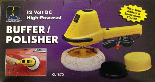 12 Volt High-Powered Buffer/Polisher CL-1870