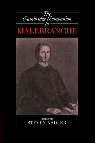 Steven Nadler, ed., The Cambridge Companion to Malebranche
