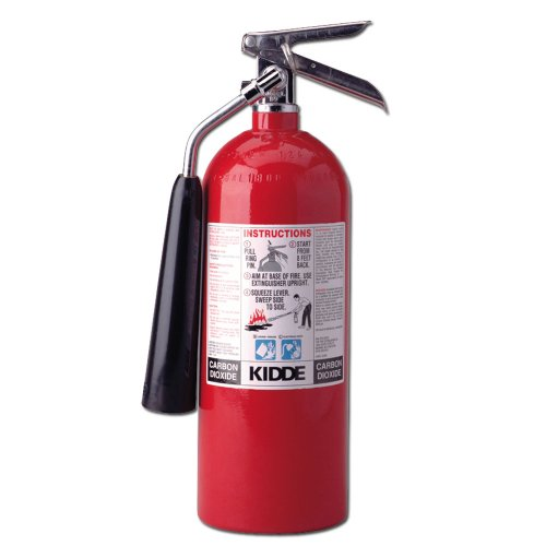 Images for Kidde 466180 Pro 5 CD Fire Extinguisher , UL Rated 5-B:C, Carbon Dioxide, Red