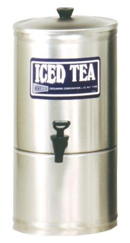 Grindmaster-Cecilware S2 Stainless Steel Iced Tea Dispenser, 2-Gallon
