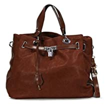 Hot Sale MyLux Handbag 158423 brown