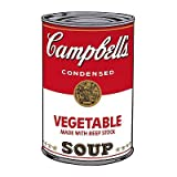 Campbell's Soup I: Vegetable, c.1968 Art Print Art Poster Print by Andy Warhol, 13x19