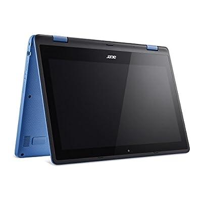 Acer Aspire R 11 R3-131T-P4AA 11.6-inch Laptop (Pentium N3700/4GB/500GB/Windows 10 Home/Intel HD Graphics), Blue