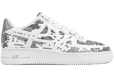 Nike Air Force 1 Low Premium '08 QS Digi Camo Mens Basketball Shoes 520505-100 White 14 M US