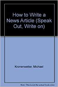How to write a story speak out write on