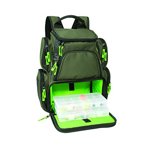 Wild River WT3508 Multi-Tackle Small Backpack with Two 3500 Style Trays (Tackle Boxes And Bags compare prices)