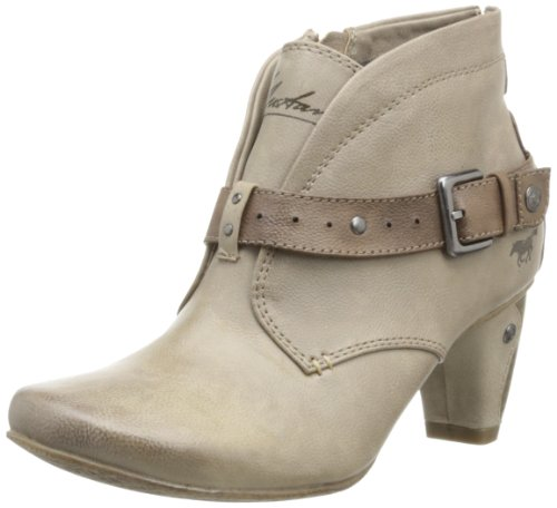 Beige Et Femme 1053507 Chaussures Boots Mustang Montantes Bottes Odqw0717