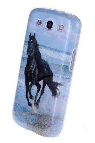 Schutzhülle für SAMSUNG i 9300 mit Pferd Bild