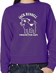 Jack Russell Dog Lovers Sweatshirt Unisex Mens Ladies Birthday Sweatshirt S-XXL
