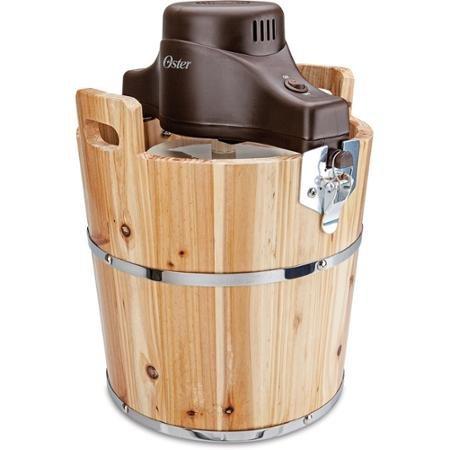 Oster 4-Quart Wood Bucket Ice Cream Maker (4 Quart Icecream Maker compare prices)