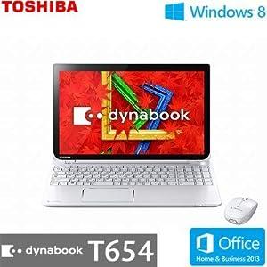 TOSHIBA dynabook T654 T654/68KW PT65468KBXW