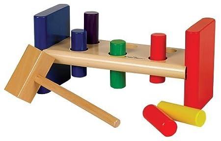 Small World Toys Ryan's Room -Pounding Bench by Orda USA (English Manual)