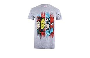 MARVEL Camiseta Manga Corta Assemble (Gris)