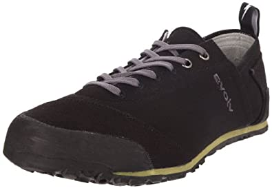evolv Men's Cruzer Approach Shoe,Black,4 M US