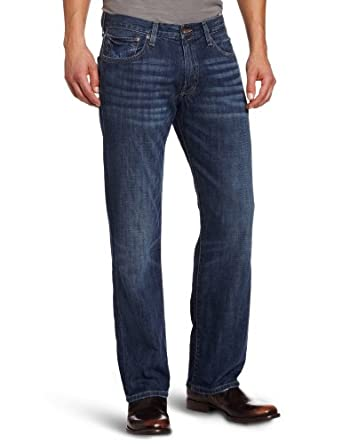 Lucky Brand Men's 221 Original Straight Leg Jean In Medium Temescal, Medium Temescal, 29x30