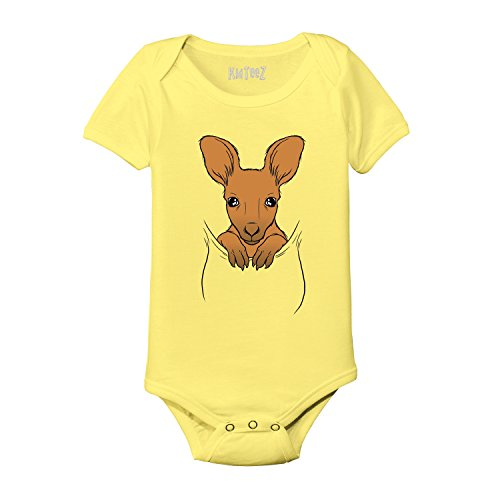 Baby Kangaroo In Pouch Costume Australia Outback Animals Cute Hip Novelty - Baby One Piece