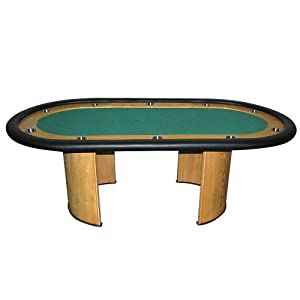 Trademark Professional Texas Holdem Poker Table (Green)