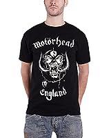 Motorhead England Classic War Pig Official Mens New Black T Shirt