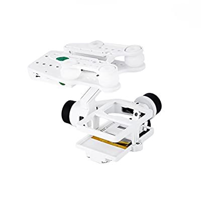 Walkera G-2D RTF 3 Axis Brushless Camera Gimbal w/ Controller for iLook/ Gopro Hero 3/ 3+/ 4 FPV Aerial Photography (Plastic Version, White)