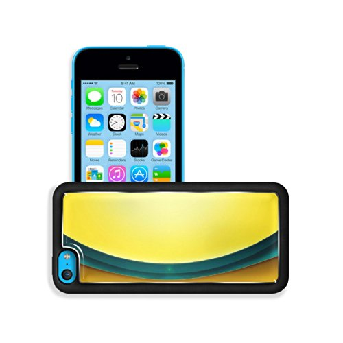 Line Simple Curved Bright Color Apple Iphone 5C Snap Cover Premium Aluminium Design Back Plate Case Customized Made To Order Support Ready 5 Inch (125Mm) X 2 3/8 Inch (62Mm) X 3/8 Inch (12Mm) Luxlady Iphone 5C Professional Cases Touch Accessories Graphic