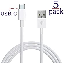 buy Josi Minea X5 Pcs Usb 3.1 Type C (Usb-C) Sync & Charging 3.3Ft/1M Cable For New Apple Macbook, Chromebook Pixel C, Lumia 950/950Xl, Nexus 5X / 6P, Oneplus 2 & Other Type-C Devices - White [5 Pack]